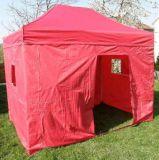 Záhradný párty stan CLASSIC nožnicový + bočné steny II. - 3 x 4,5 m červený