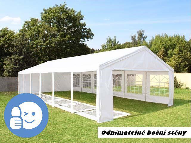 Záhradný párty stan CLASSIC 6 x 12 m - biela