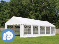 Záhradný párty stan ECONOMY 4 x 10 m - biela