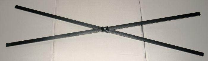 Spojovací kríž na stany DELUXE - dĺžka 140 cm