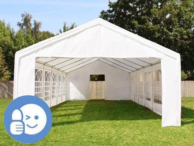 Záhradný párty stan STANDARD 4 x 6 m – biela