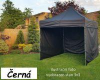 Záhradný párty stan PROFI STEEL 3 x 4,5 - čierna