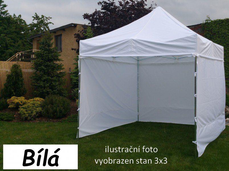 Záhradný párty stan PROFI STEEL 3 x 6 - biela