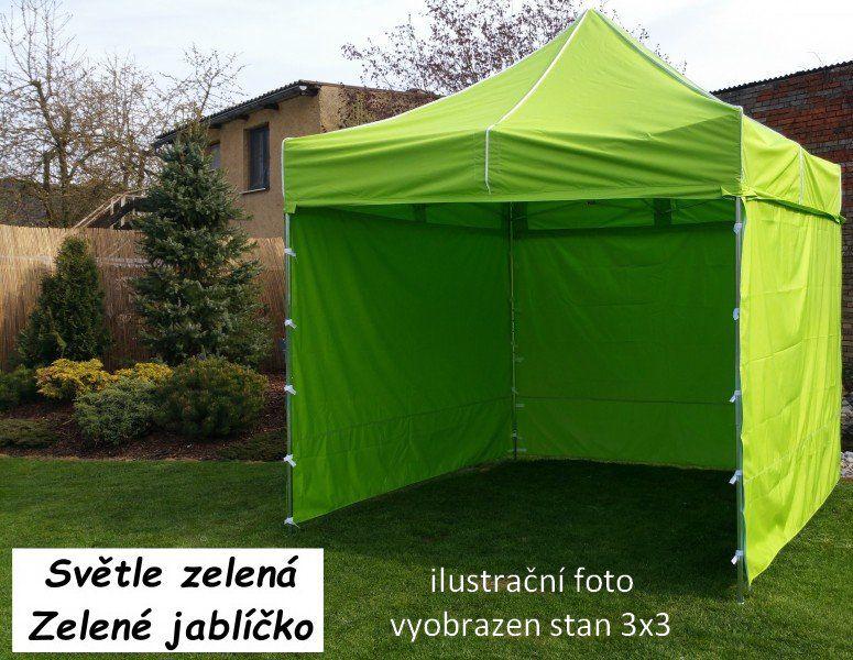 Záhradný párty stan PROFI STEEL 3 x 6 - svetlozelená