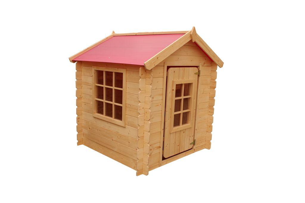Domček detský drevený, Vilemína