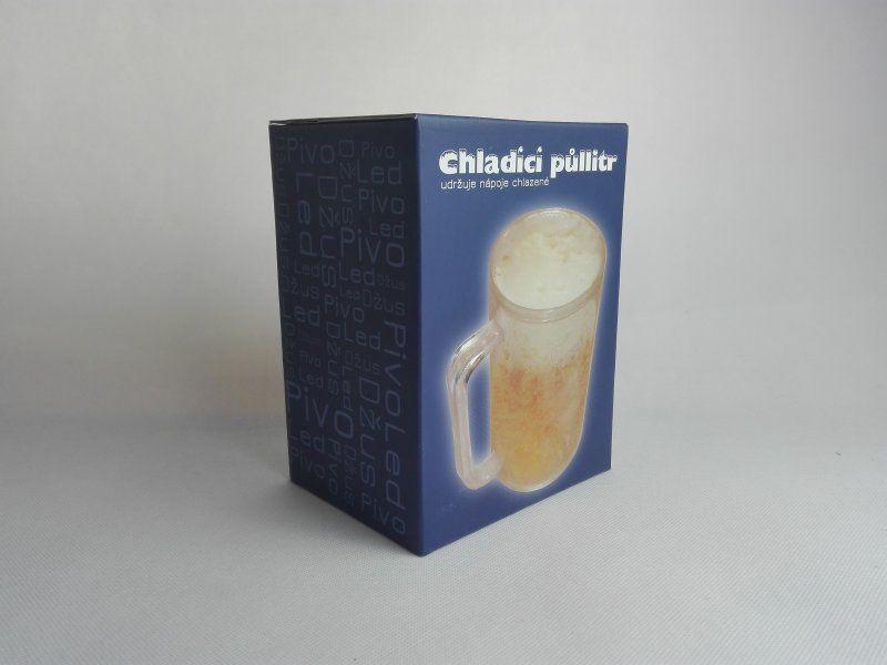 Chladící půllitr 0,4l - česká krabice
