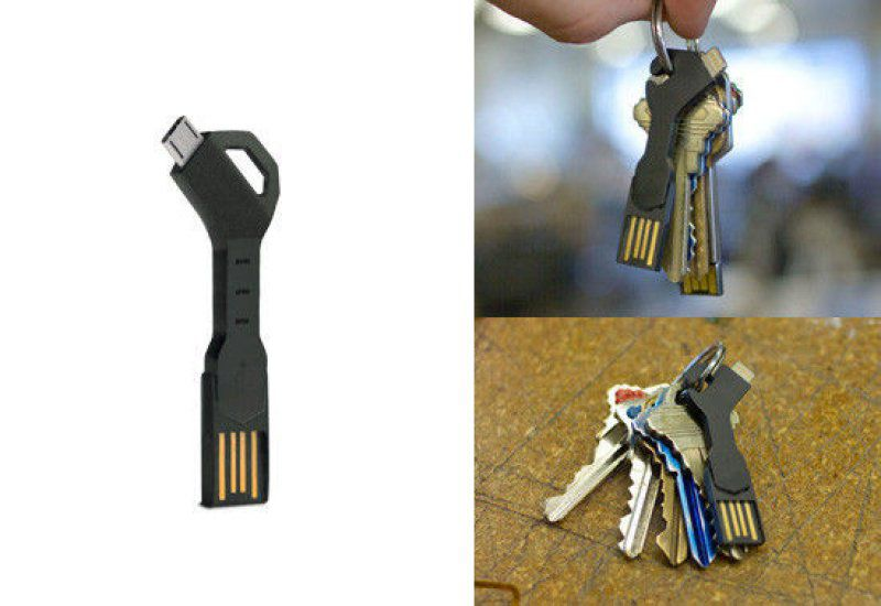 Micro USB kabel na klíče