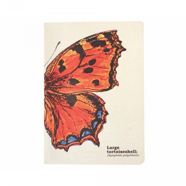 Poznámkový blok A5 s motýly