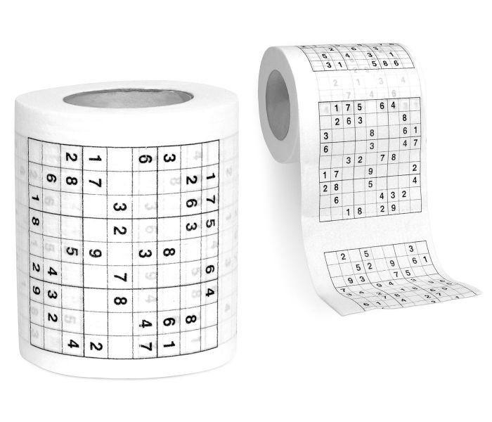 Toaletní papír se sudoku
