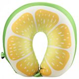 Cestovní polštář – design ovoce  - LIMETKA