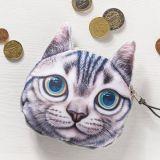 Kočičí peněženka na drobné - model 2