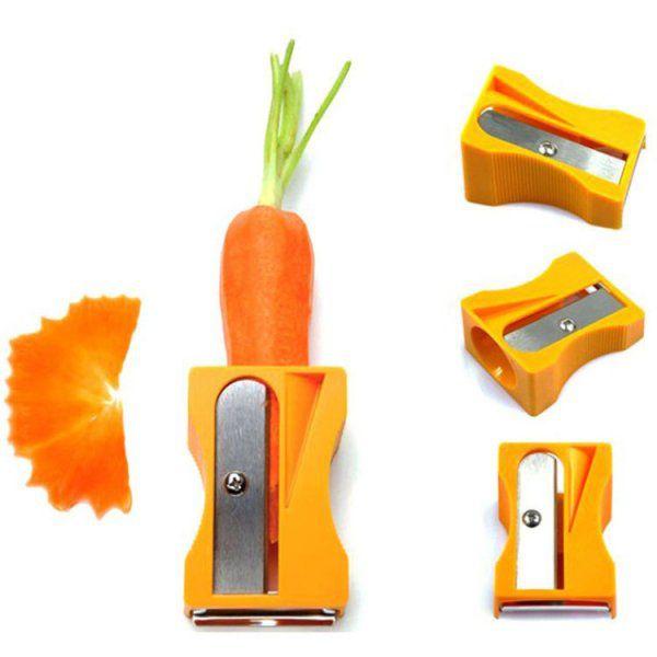 Ořezávátko a škrabka na mrkev a zeleninu