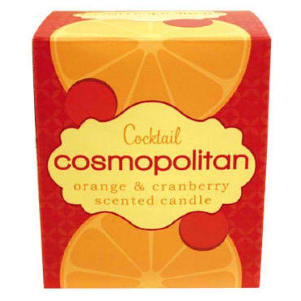 Svíčky s vůní koktejlů - Cosmopolitan