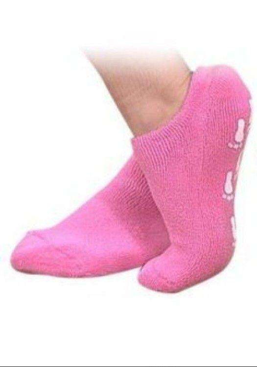 Zdravotní komfortní gelové ponožky - Růžová