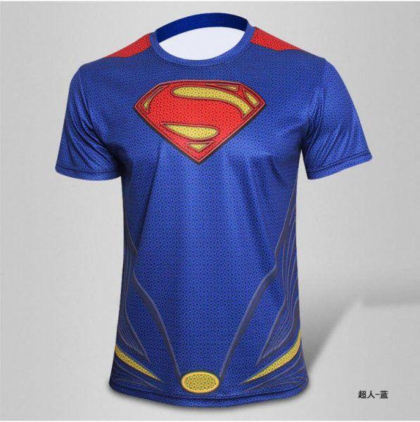 Sportovní tričko - Superman - Velikost XL