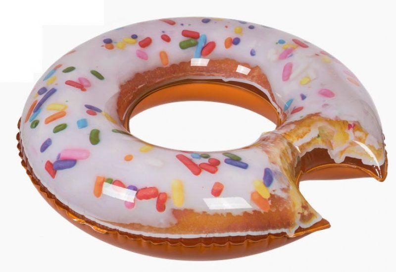 Nafukovací kruh zahryznutý Donut