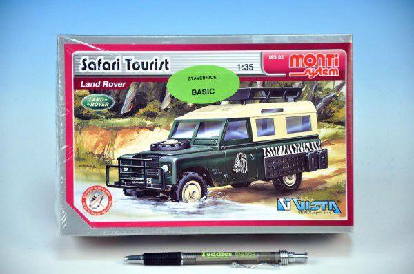 Stavebnice Monti 02 Safari Tourist 1:35 v krabici 22x15x6cm