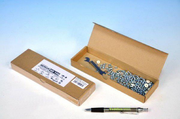 MERKUR ND 108 Šroubky a matice 176ks v krabičce 22x7x3cm