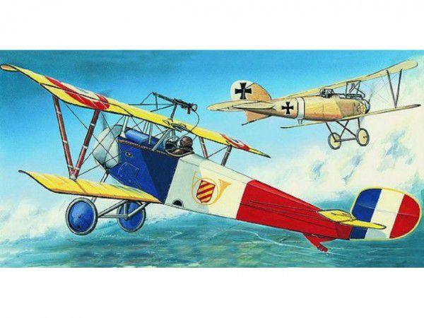 Model Nieuport 11/16 Bebe 12,9x16,2cm v krabici 31x13,5x3,5cm