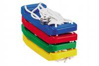 Houpačka/Houpací prkénko plast 43x18cm asst 4 barvy v síťce