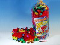 Stavebnice LORI 500 balení pro školky plast 500ks v pytli 30x70x20cm