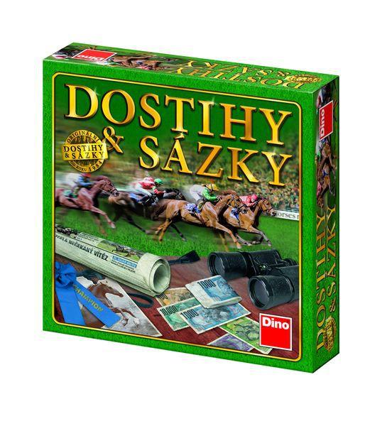 Dostihy a sázky NOVÉ společenská hra v krabici 29,5x29,5x7cm