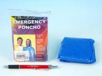 Pláštěnka Poncho polyethylen universální velikost v sáčku 10x12cm