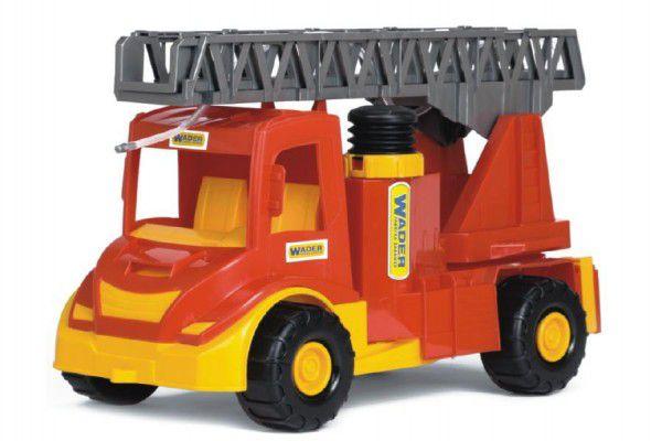 Auto multitruck hasiči stříkací plast 43cm v sáčku Wader