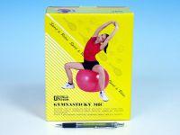 Gymnastický míč relaxační 85cm asst 4 barvy v krabici