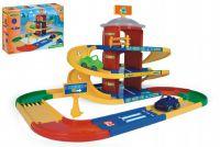 Kid cars 3D parkoviště 2 patra plast 4,6m v krabici 59x40x15cm Wader
