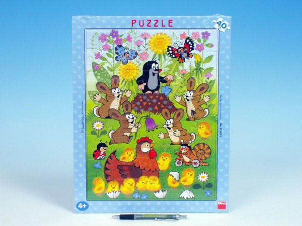 Puzzle Krtko a Veľká Noc