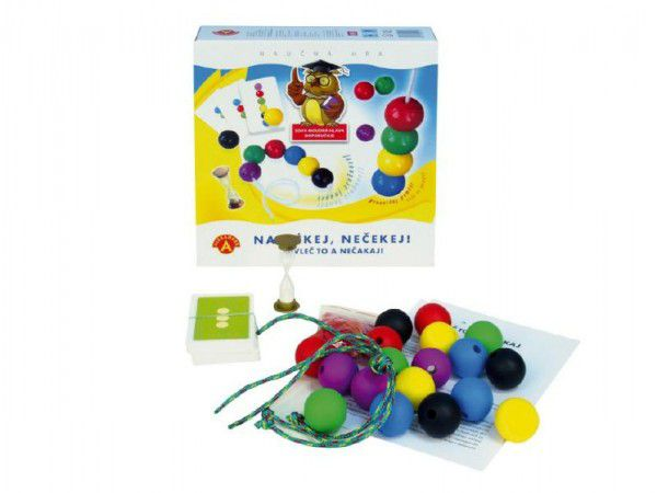 Navlékej, nečekej společenská hra v krabici 24,5x25,5x6cm