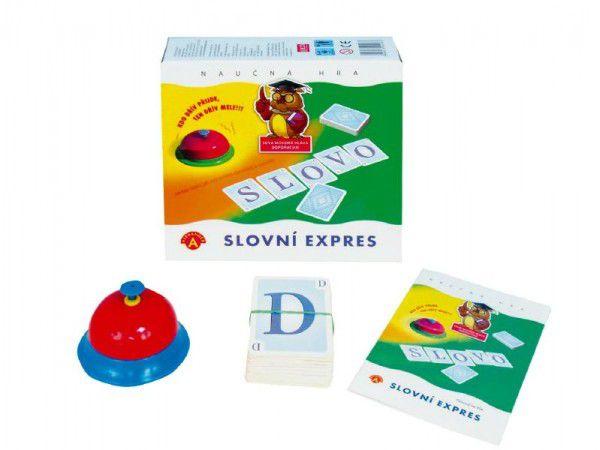 Slovní expres společenská hra v krabici 19,5x18,5x5cm