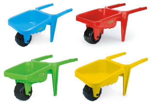 Kolečko na písek Gigant Wader plast 76x34x32cm - 3 barvy (zelená, červená, modrá)