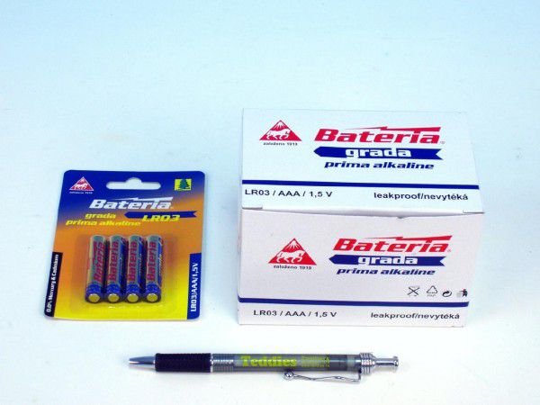 Baterie Grada LR03/AAA 1,5V alkaline - 4ks