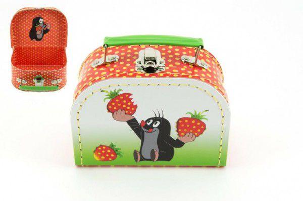 Kufrík Krtko a jahody - šitý