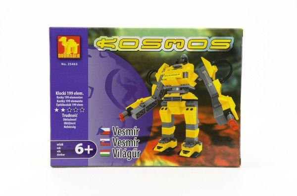 Stavebnice Dromader Kosmický Robot 25463 199ks v krabici 25,5x18,5x4,5cm