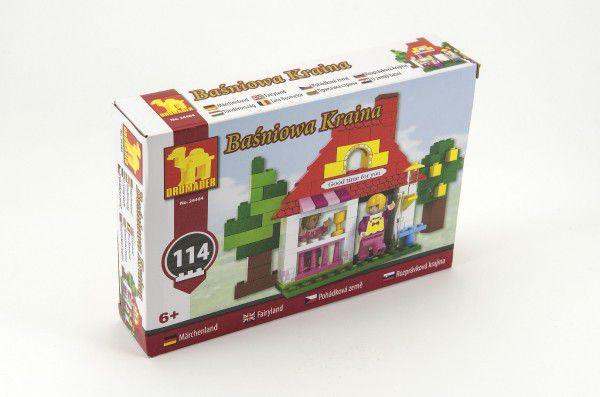 Stavebnice Dromader pro Holky 24404 114ks v krabici 22x15x4,5cm