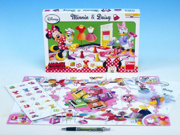 Minnie a Daisy společenská hra v krabici 33x23x3cm Walt Disney