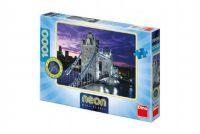 Puzzle Tower Bridge svítící ve tmě 66x47cm 1000dílků v krabici