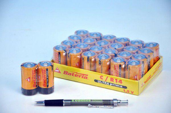 Baterie Ultra Prima LR14/C 1,5V - 2ks