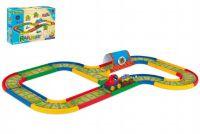 Kid Cars Železnice 3,1m v krabici 39x29x14cm 12m+ Wader