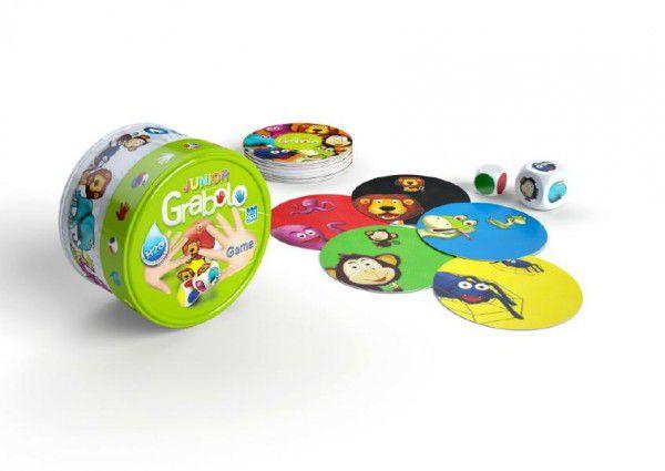 Grabolo junior společenská hra v plechové krabičce 9x9x5cm