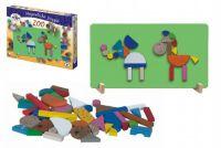 Magnetické puzzle ZOO v krabici 33x23x3,5cm