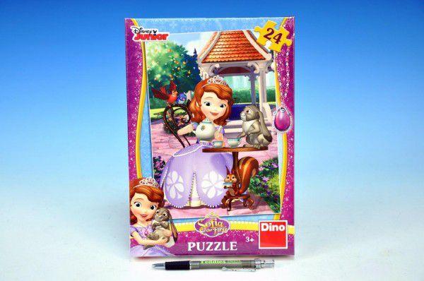 Puzzle Princezna Sofia 18,1x26,4cm 24 dílků v krabici 19x27x3,5cm