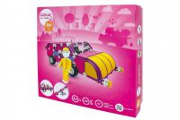 Stavebnice Seva Pro holky 2 plast 600 dílků v krabici 35x33x8,5cm