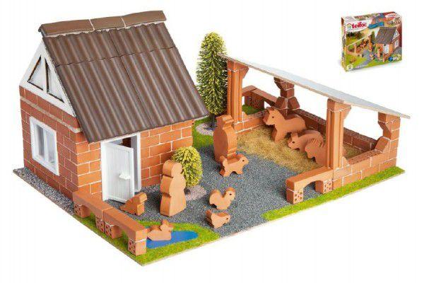 Stavebnice Teifoc Farma 180ks v krabici 35x29x8cm