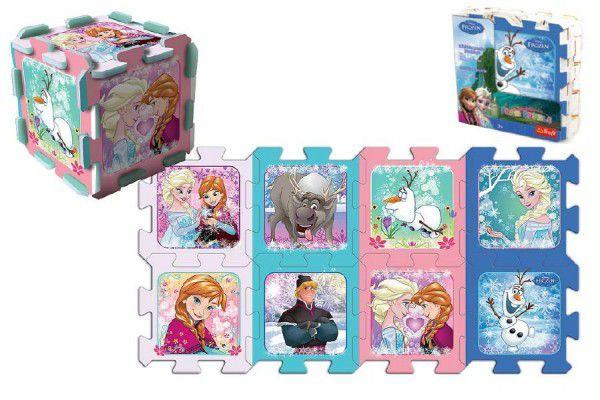 TREFL puzzle Ľadové Kráľovstvo-Frozen 30x30 cm 8 ks