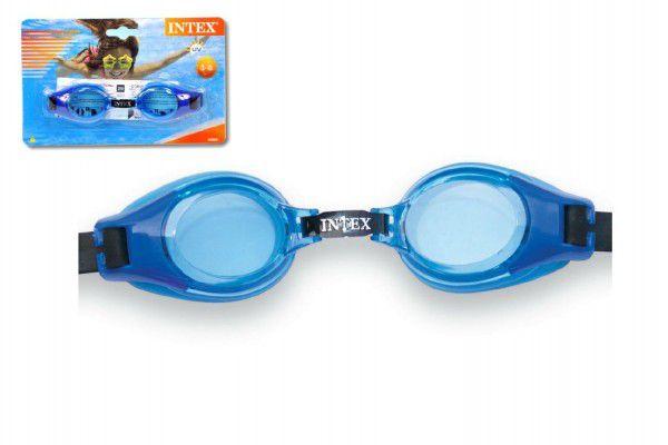Plavecké brýle dětské 3-8 let na kartě 20x12cm