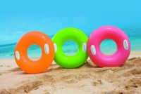 Kruh nafukovací s úchyty 76cm - 3 barvy